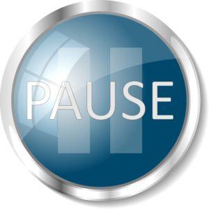 """PRESS """"PAUSE"""""""