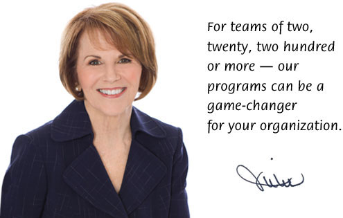 For teams of two, twenty, two hundred or more — our programs can be a game-changer for your organization